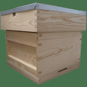 National-beehive-varoa-mesh-floor-broad-box-super-flat-roof